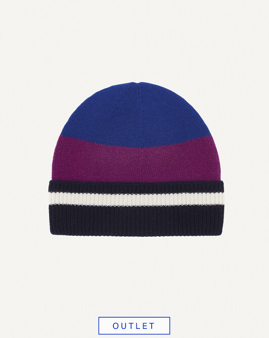 Bonnet rayé multicolore - Multicoloris