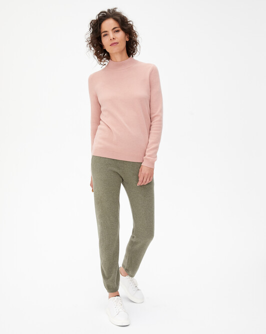 Casual carrot trousers - Khaki