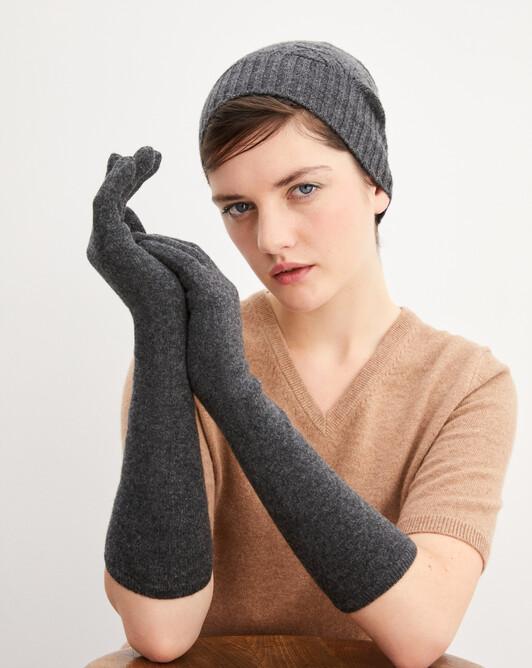 Longs gants - Anthracite