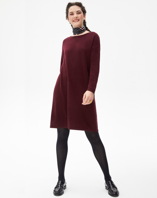 Jersey oversized dress - Azuki