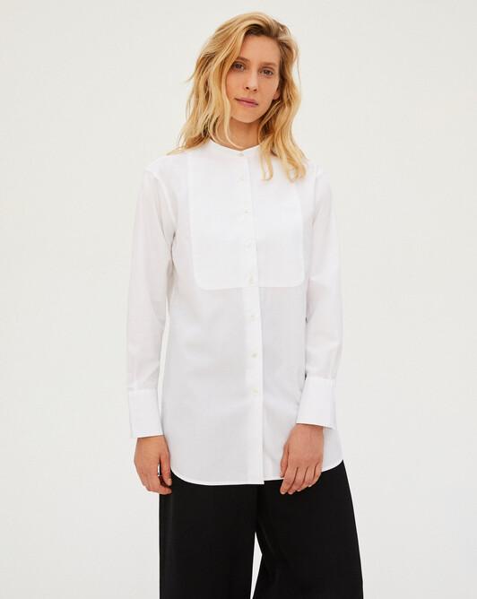 Tuxedo shirt - White