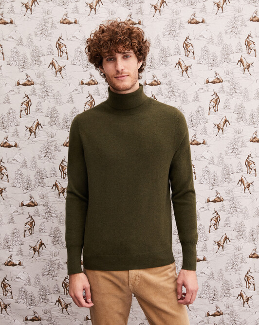 Classic roll-neck - Kale