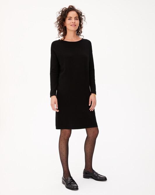 Robe ample jersey - Noir