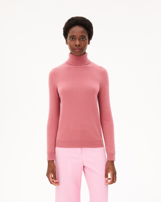 Classic roll-neck - Rosewood