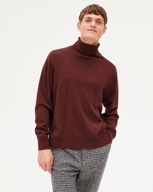 Col roulé cachemire laine - Dahlia