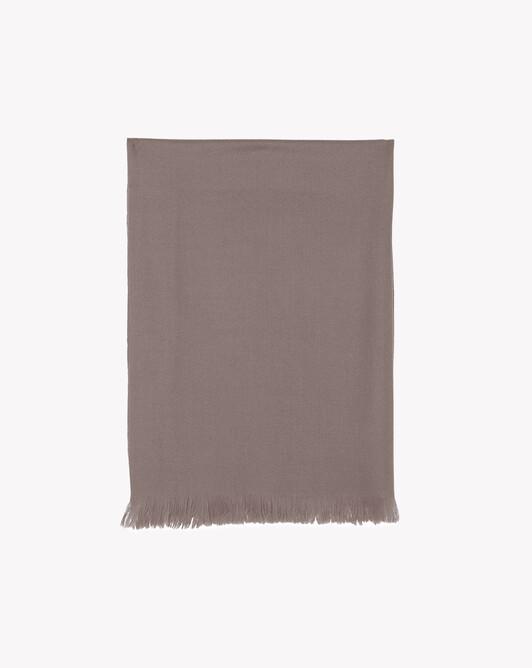 Écharpe voile de cachemire 150 cm x 55 cm - Coriandre
