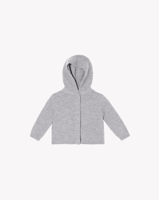 Hooded jacket - Frost grey