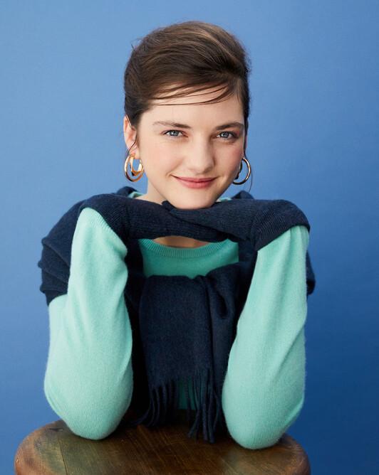 Ladie's gloves - Graphite blue