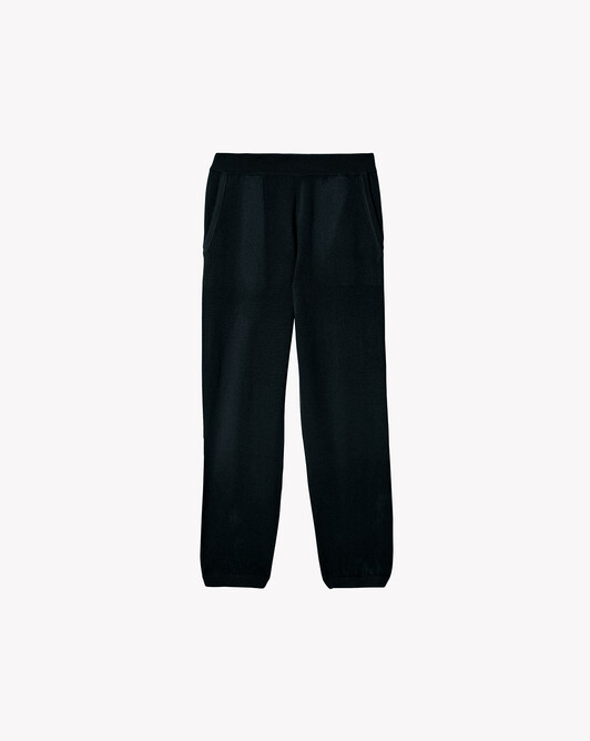 Casual trousers - Black