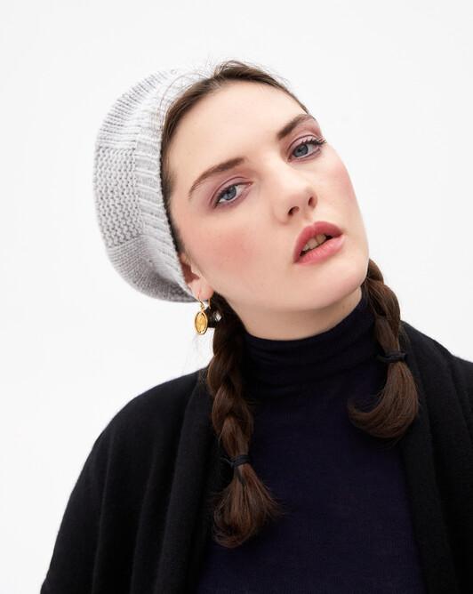 Beret hat - Frost grey