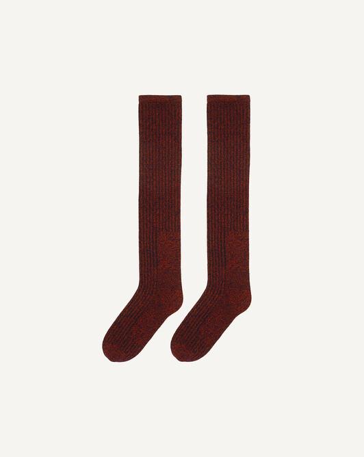 Chaussettes hautes moulinées - Ebene/everbay