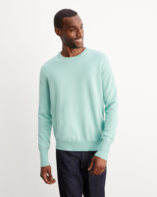 Classic crew neck pullover - Ice mint