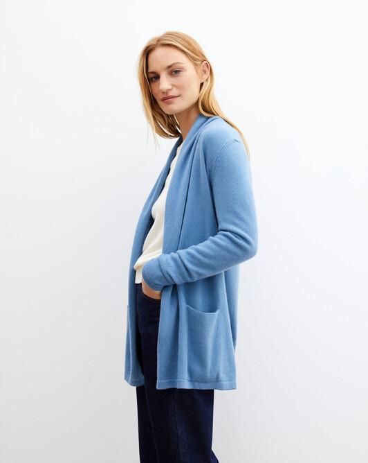 Veste cosy - Bleu egyptien