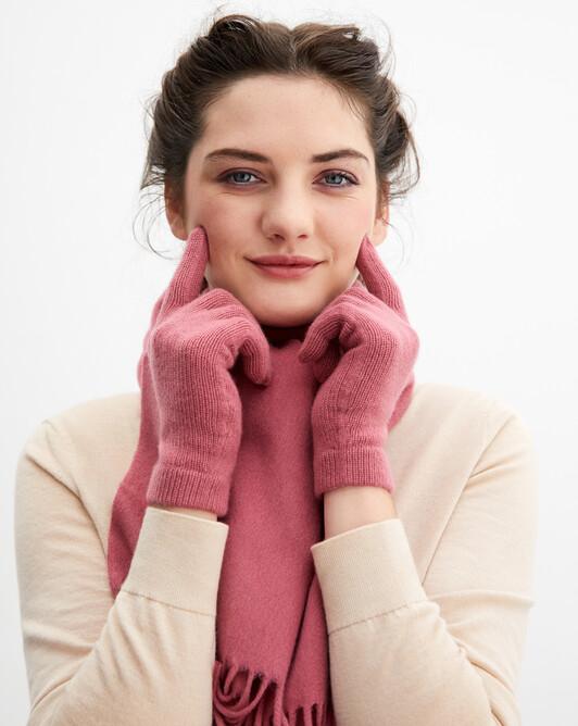 Ladie's gloves - Rosewood