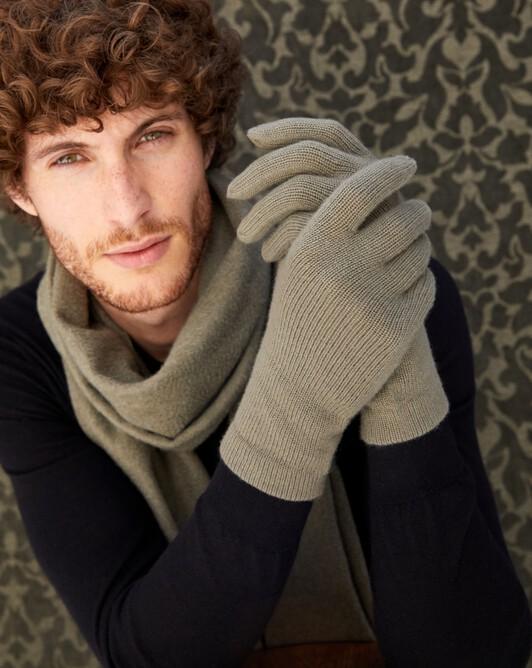 Men's gloves - Khaki
