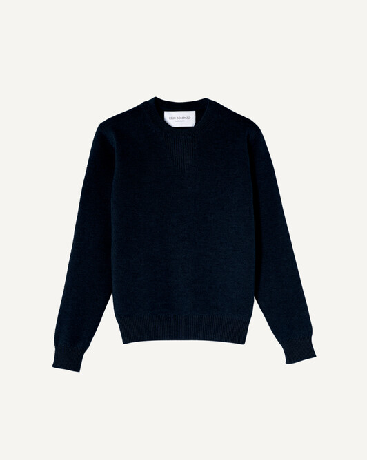 Sweat-shirt - Marine