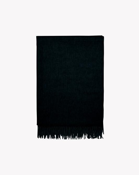 Stole 210 cm x 75 cm - Black