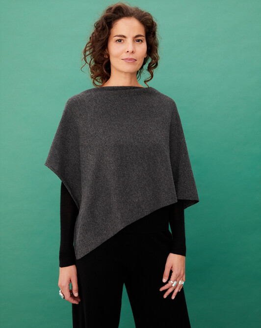 Poncho - Anthracite