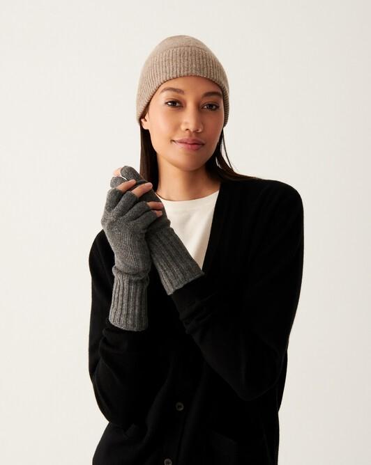 Mitten-gloves - College grey