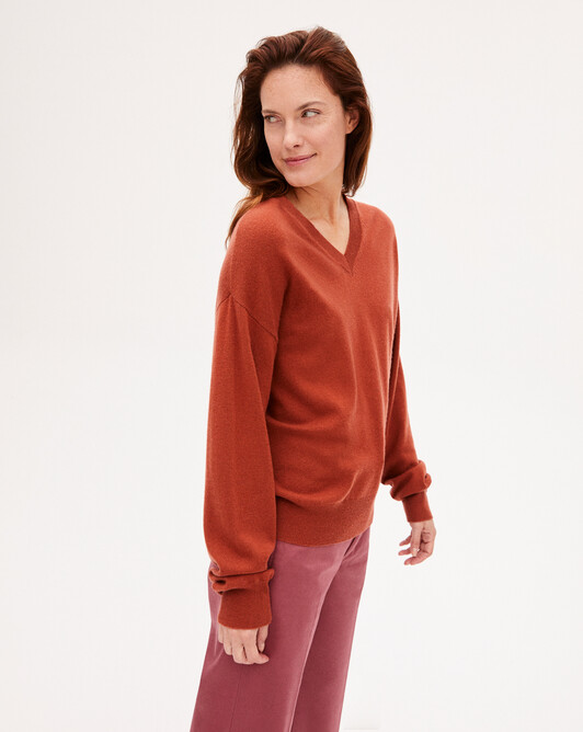 Cashmere wool Must-Have V-neck sweater - Everbay