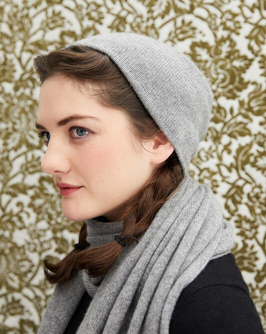 Off-gauge double layer hat - Flannel grey