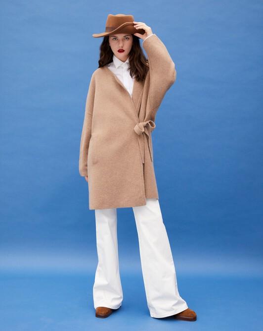Milano coat - Camel