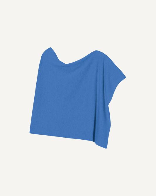 Poncho - Azure blue