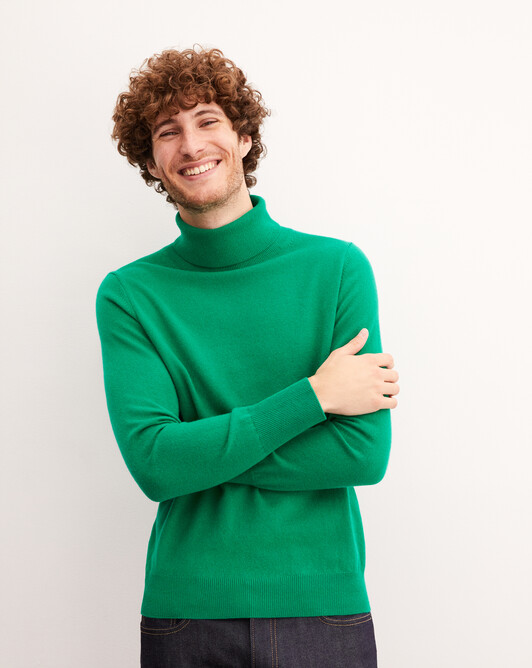 Classic roll-neck - Peppermint