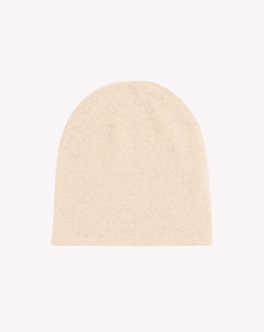 Bonnet déjaugé double face - Nougat
