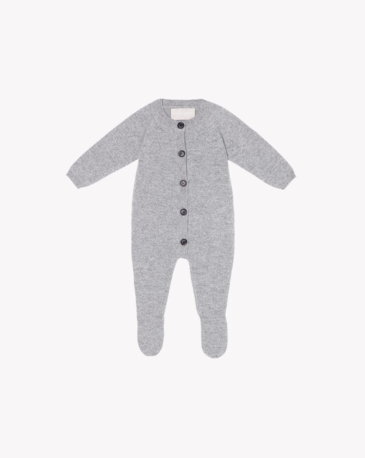 Baby suit - Frost grey