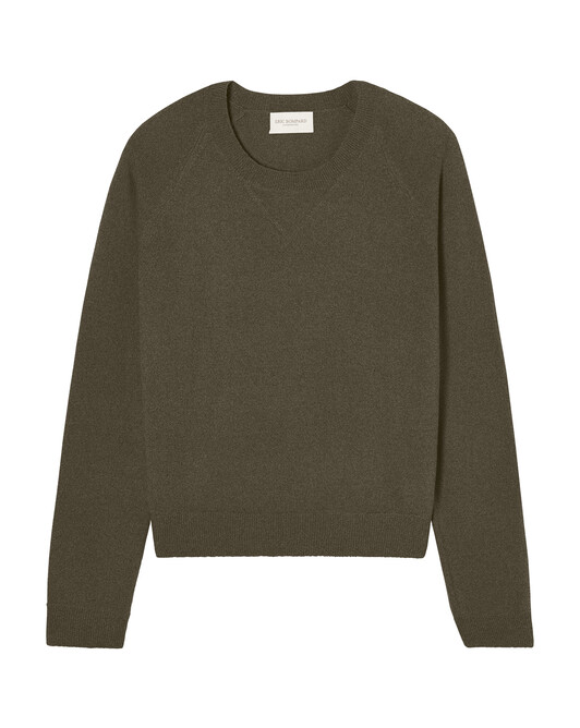Sweat-shirt casual - Kaki