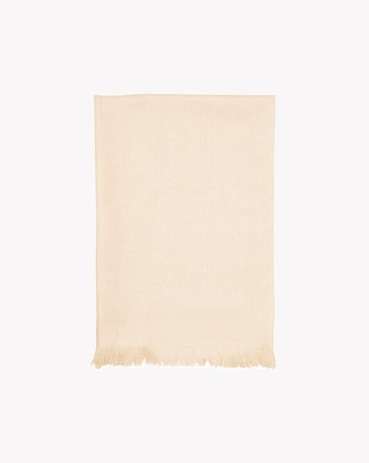 Écharpe voile de cachemire 150 cm x 55 cm - Nougat