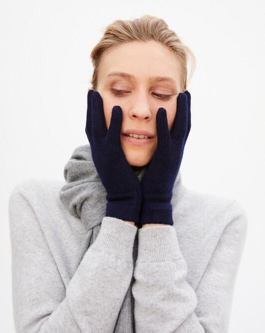 Ladie's gloves - Navy blue