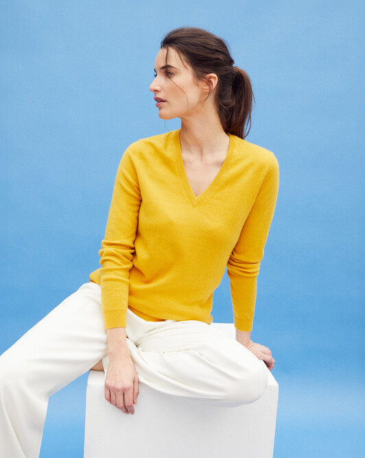 Classic V-neck sweater - Galileo
