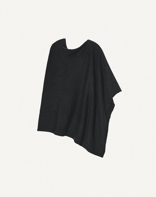 Poncho long - Anthracite
