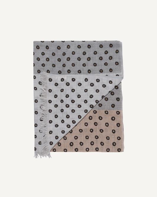 Mini dots stole 185 x 85 cm - Spruce