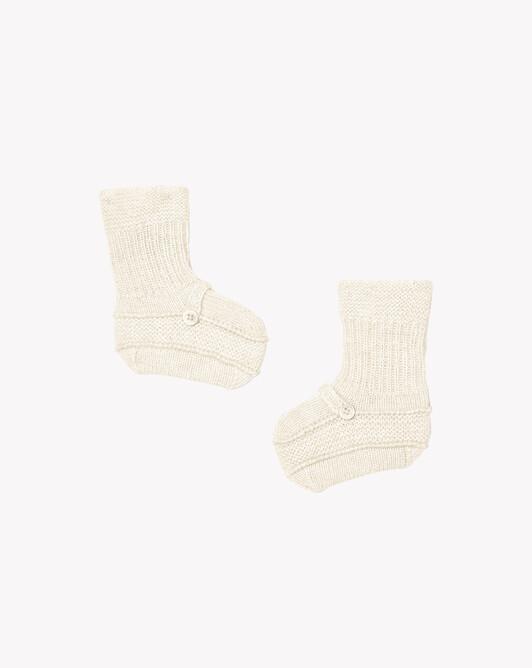 Baby shoes - Autumn white