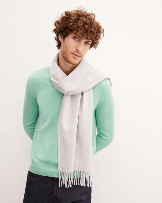 Classic scarf 170 cm x 35 cm - Frost grey