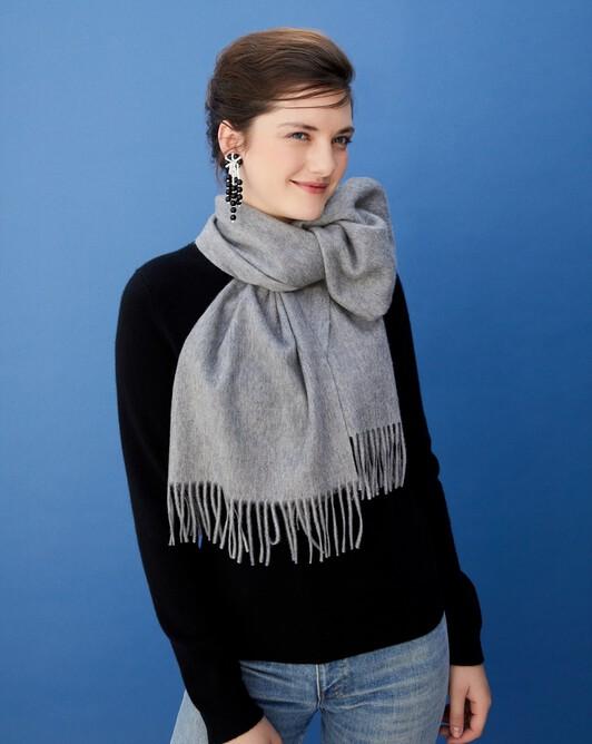 Classic scarf 170 cm x 35 cm - Flannel grey
