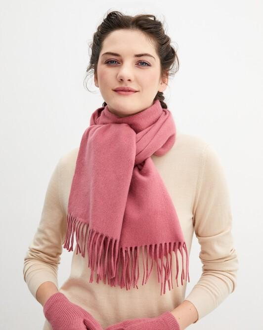 Écharpe classique 170 cm x 35 cm - Bois de rose