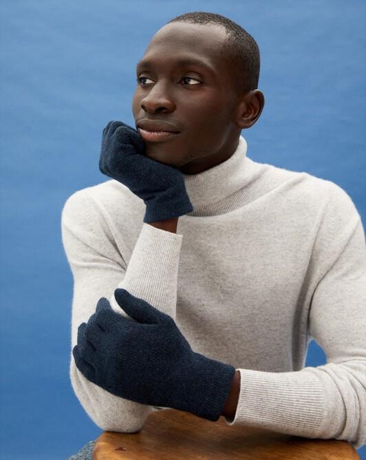 Men's gloves - Graphite blue