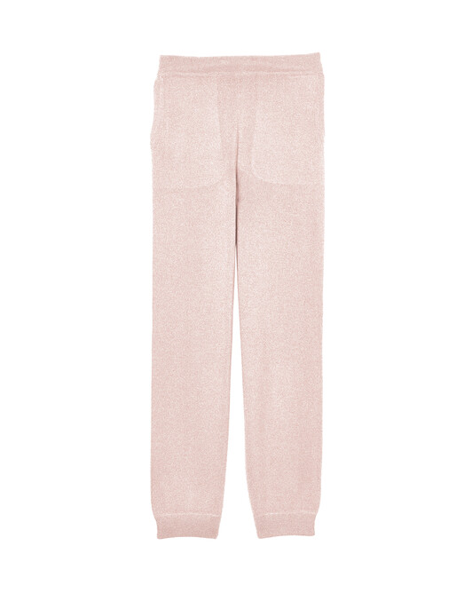Casual trousers - Soft pink melange