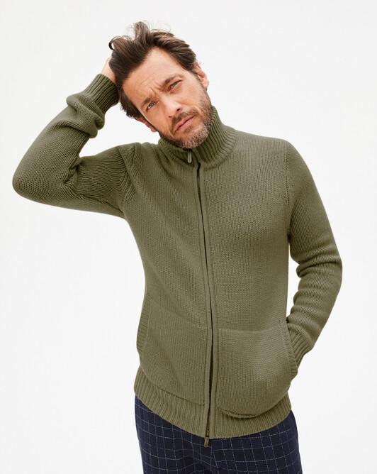 12-ply jacket - Khaki