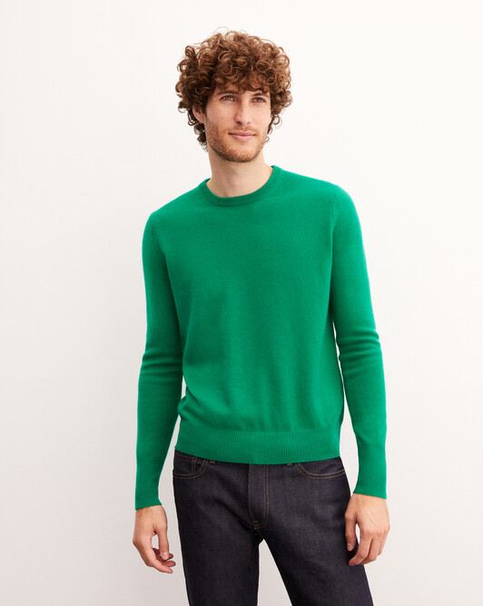Classic crew neck pullover - Peppermint